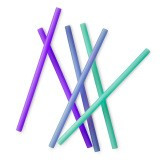 Silikids Silicone Straws (6 pack)