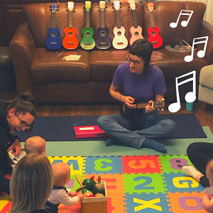 Music with Babies + Ukulele  (a 5 week series) - CLASSES SUSPENDED UNTIL FURTHER NOTICE