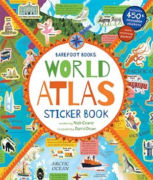 World Atlas Sticker Book (and Map Poster)
