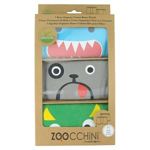 Zoocchini Children's Boxers - 3 pack